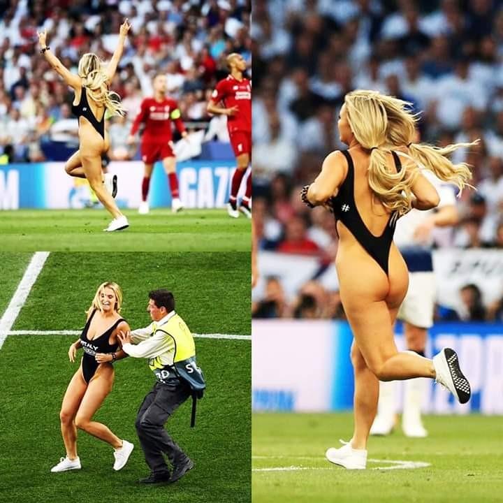 Barra brava invade la final de la Champions