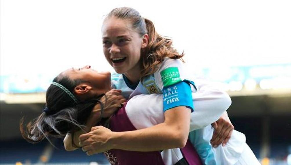 A la selecion argentina de fútbol femenino le gusta el Var