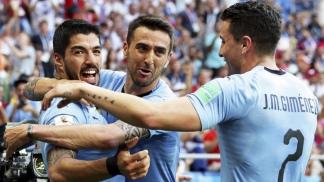 Uruguay arrancó como el más efectivo del torneo al golear a Ecuador