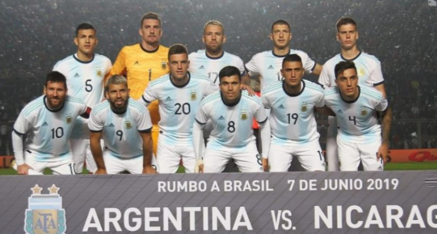 Con dos goles de Lionel Messi, Argentina goleó a Nicaragua