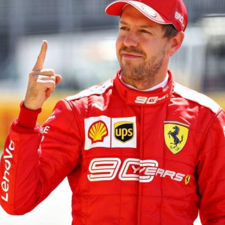 El alemán Sebastian Vettel larga en la pole position en Canadá