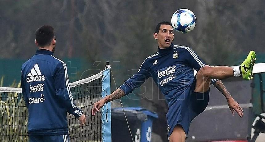 Scaloni ya tiene el equipo para el debut con Colombia