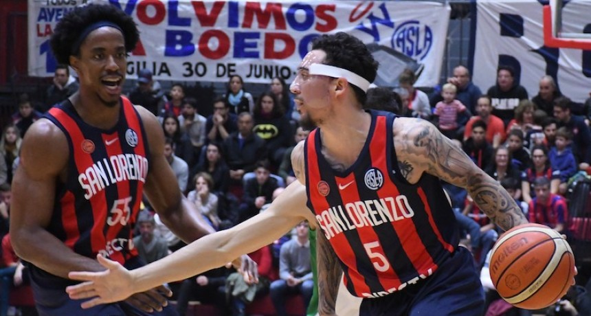 San Lorenzo venció a Ferro por 86 a 83 en el segundo juego
