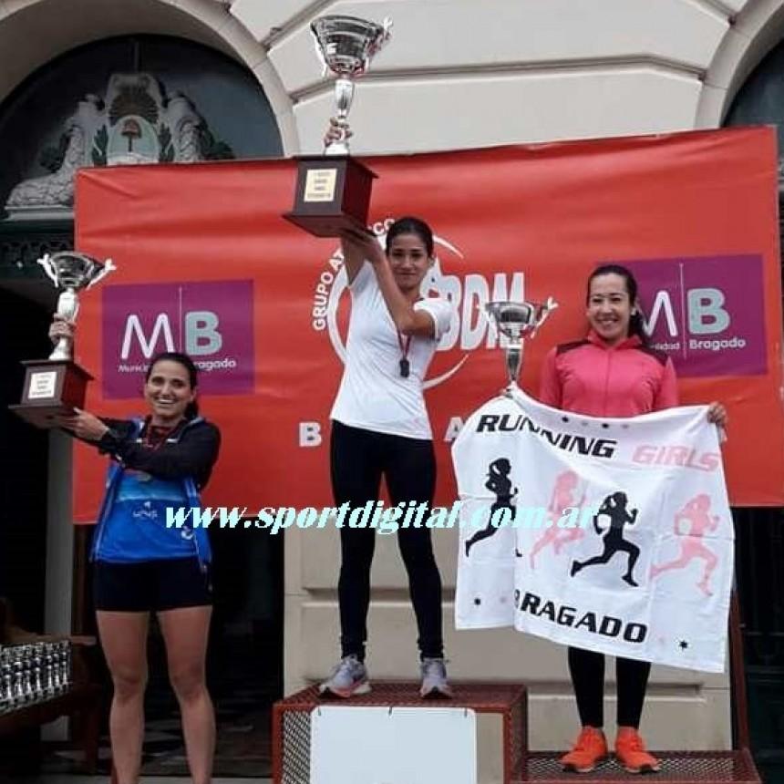 Gran victoria de Francisca Almirón en Bragado