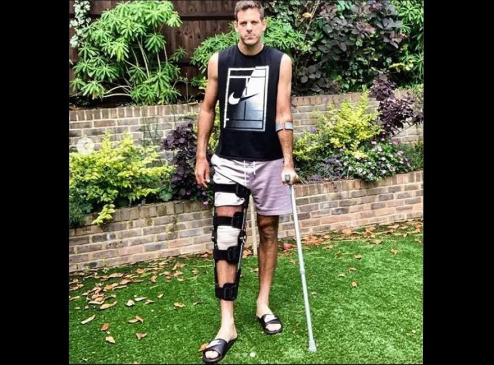 Del Potro sufre una nueva lesión y se pierde lo que resta de la temporada