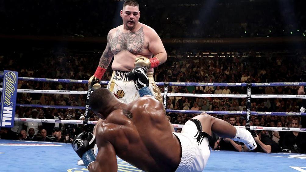 Ruiz venció al británico Joshua y es nuevo campeón mundial de los pesados
