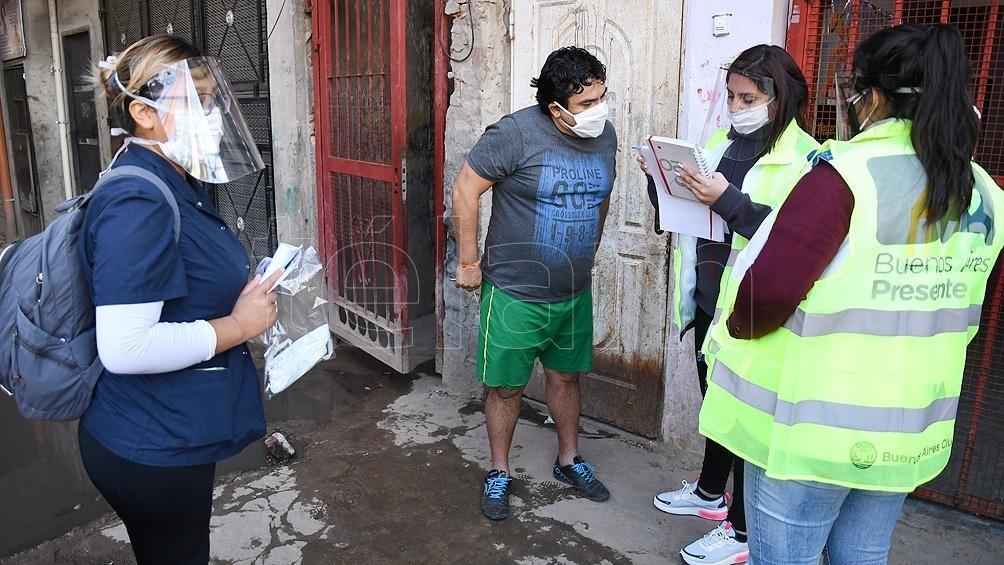 Con 252 nuevos casos, ya son 6.144 los contagiados en la provincia de Buenos Aires