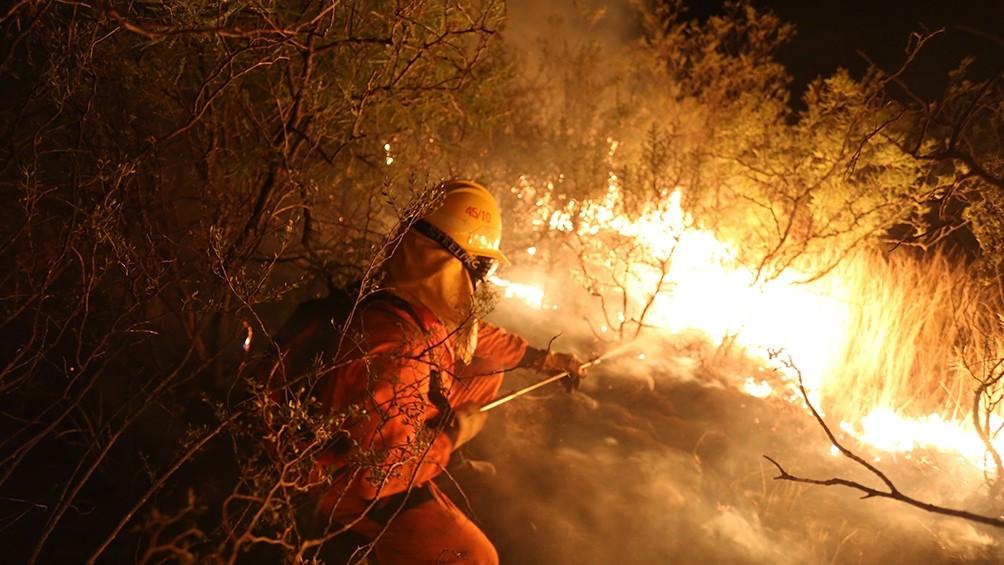 Nación envía una brigada a combatir incendios de campos entrerrianos