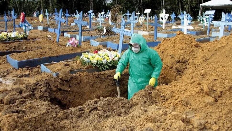 Brasil no para de contar muertos y contagiados por coronavirus