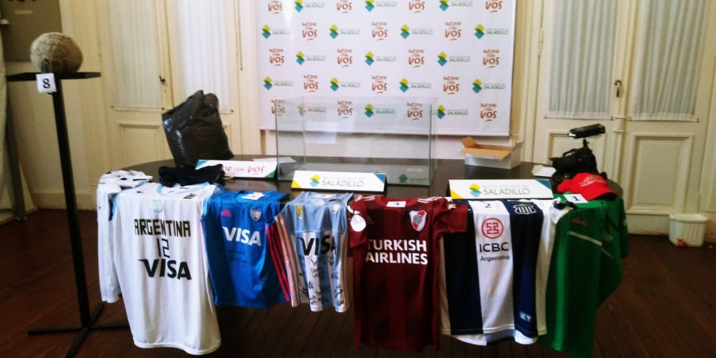 Se realizo el sorteo del Bono para ayuda a las Instituciones deportivas de Saladillo