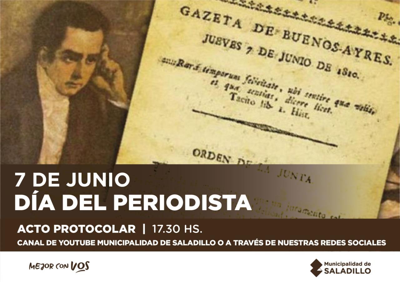 DÍA DEL PERIODISTA 7 DE JUNIO
