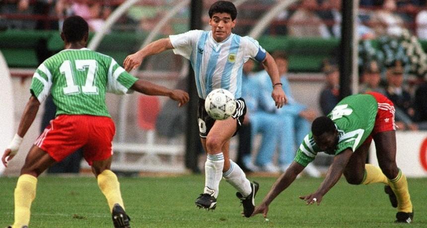 Maradona valoró el esfuerzo en Italia 90:
