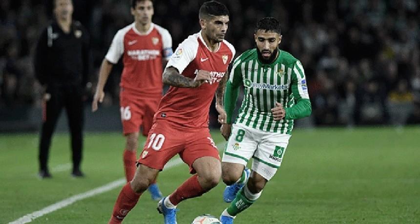 Sevilla y Betis animan el clásico andaluz en el regreso de la Liga de España