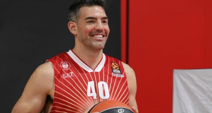 Luis Scola dejó de ser jugador de Olimpia Milano de Italia