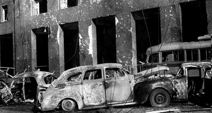 A 65 años del bombardeo a Plaza de Mayo para derrocar a Perón que causó más de 350 muertos