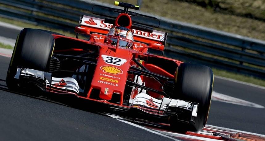 Ferrari salió a pista después de tres meses y medio