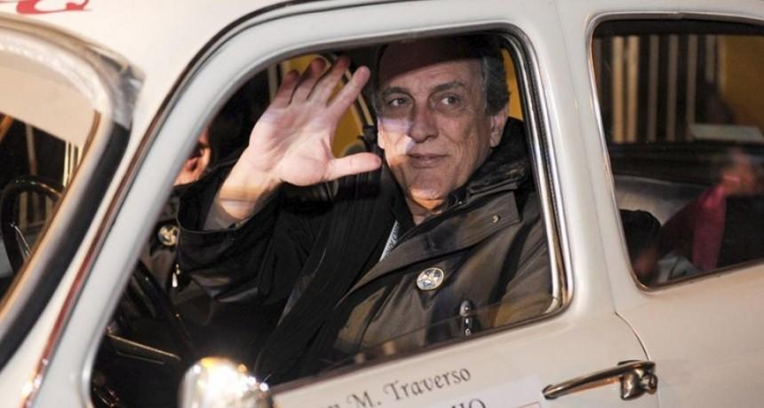 """Traverso: """"Le informé al Presidente lo que pasa en la familia del automovilismo"""""""