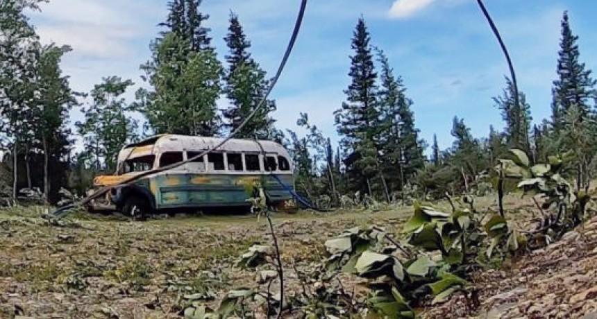 Alaska: retiraron el histórico micro de