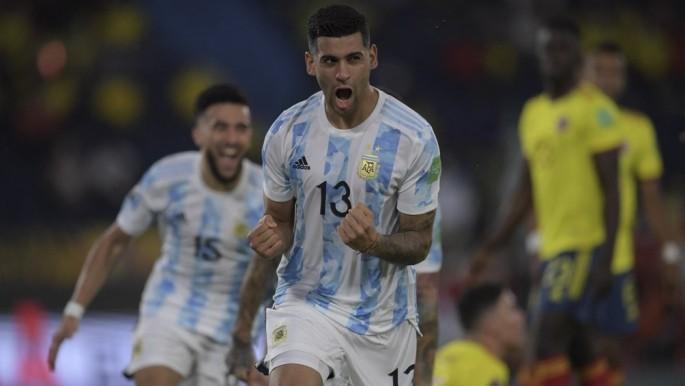 Argentina aguantaba la ventaja, pero Colombia lo empató en tiempo de descuento