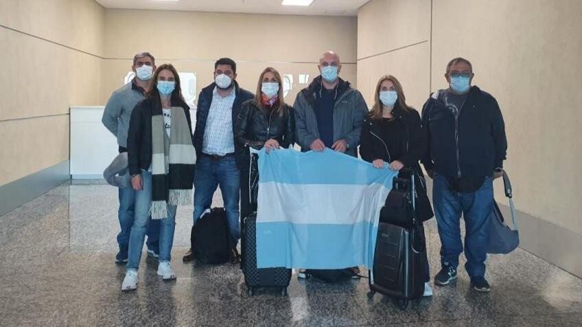 Alejandra Lordén viajo a Emiratos Árabes por vacunas