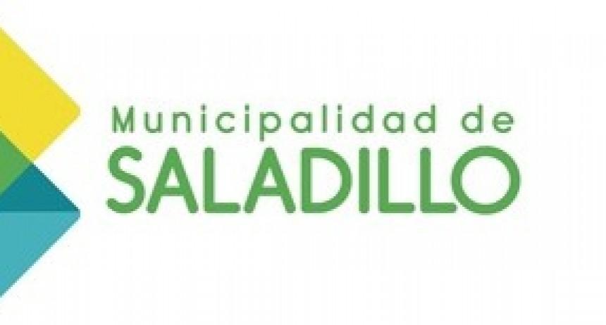 Puesto móvil en la Plaza de la Secretaria de Hacienda de Saladillo