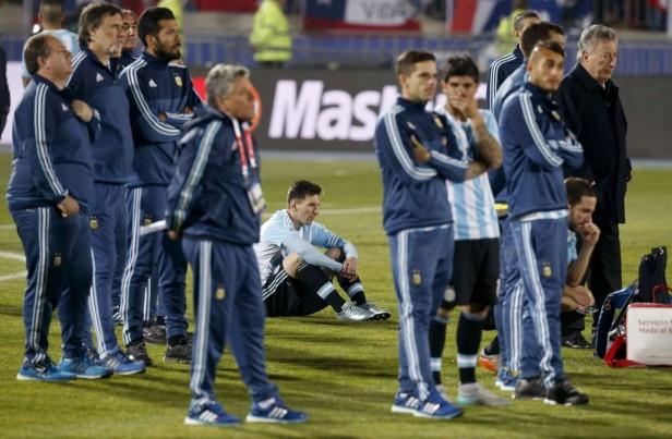 La prensa argentina criticó el nivel de la selección en la final perdida