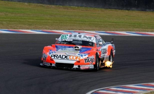 Juan Martin Bruno regresó con todo al TC Pista