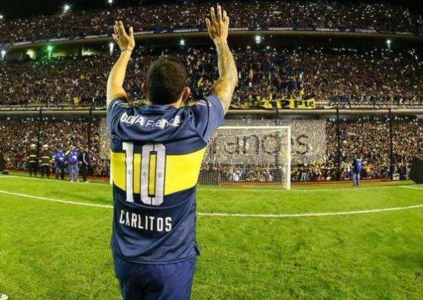 Carlitos Tevez volvió a Boca para hacer historia