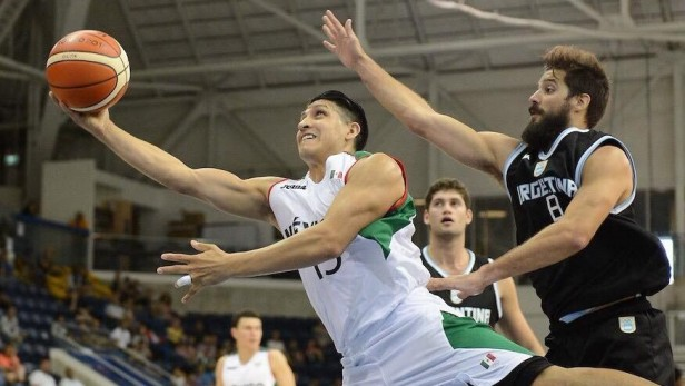 Seleccion Argentina de Basquet no pudo con México en el debut en los juegos