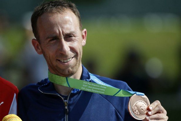 Histórica carrera de Mariano Mastromarino, ganó el bronce en la maratón