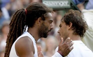 Dustin Brown despidió a Rafael Nadal de Wimbledon