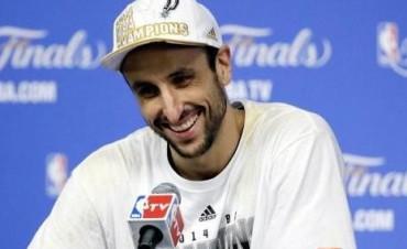 Ginóbili seguirá otro año en los Spurs