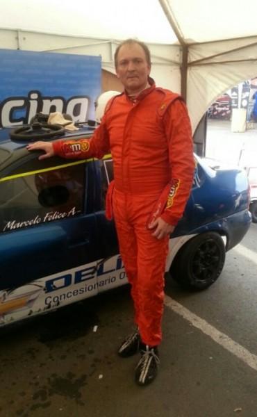 El saladillense Marcelo Felice corre en La Plata