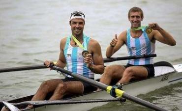 Tres podios de martes: la Argentina consiguió el oro en remo, canotaje y en los 100 metros libres