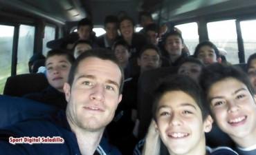 Categorías Sub13 y Sub15 de Ciudad de Saladillo juegan Torneo en Olavarría