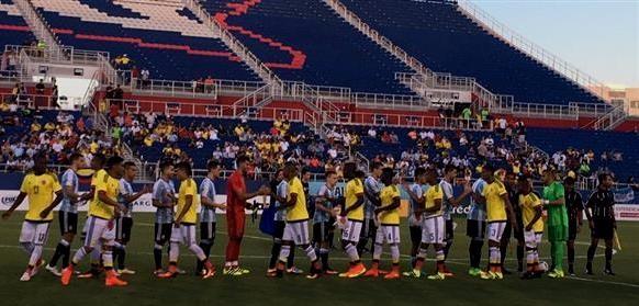 La selección del Vasco empató sin goles con Colombia