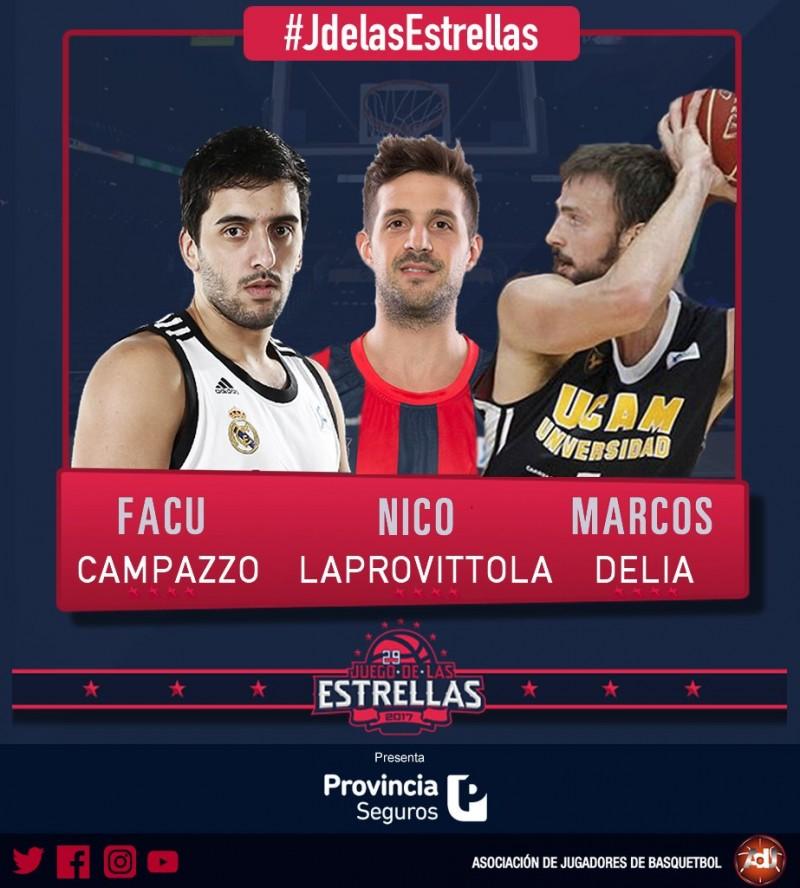 Marcos Delía estará en la edición 29 del Juego de las Estrellas