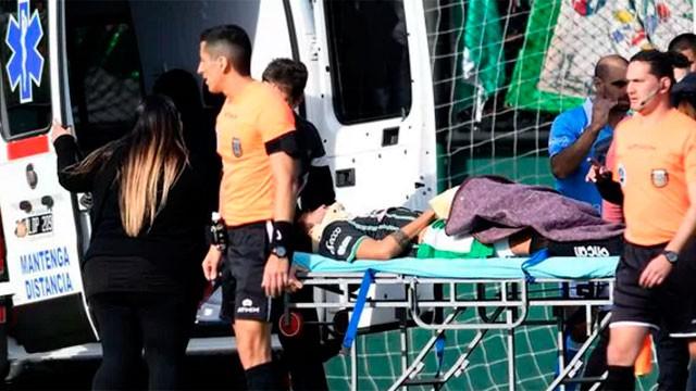 Operaron con éxito a Isaías Olariaga, el futbolista de San Miguel que golpeó su cabeza contra un rival