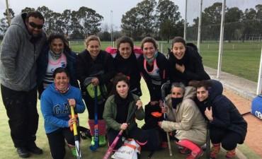 Victoria de las Mamis y Veteranas del Saladillo Hockey club ante Tapalque