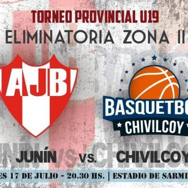 Con cuatro saladillenses, la selección sub19 chivilcoyana juega el lunes ante Junín