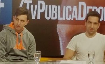 Juan Bruno y Juan Scoltore estuvieron en la TV Publica