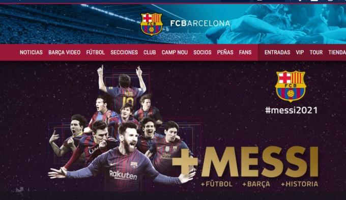 Barcelona oficializó la renovación de Messi hasta 2021