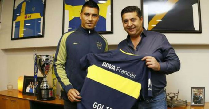 Boca ya incorporó a Goltz y abrochó a Espinoza