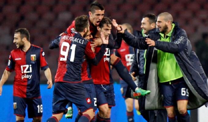 Centurión volvió a Italia y firmó con el Genoa