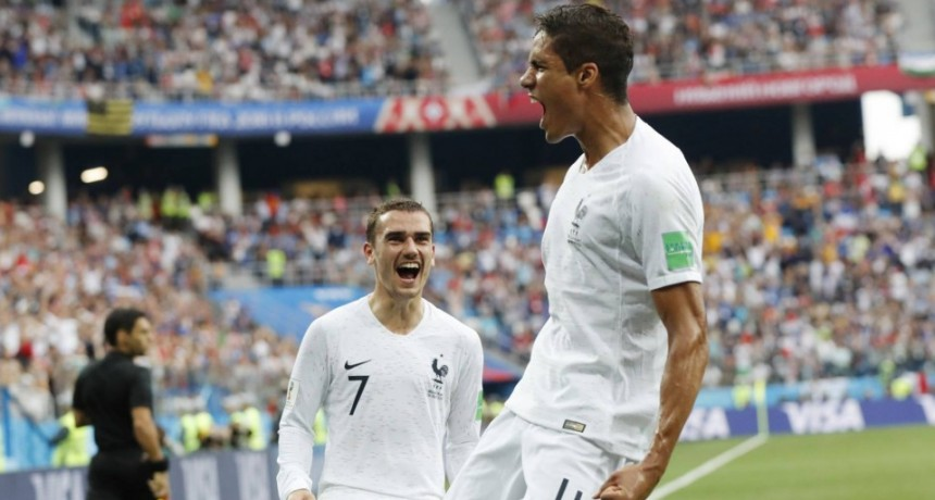 Francia eliminó a Uruguay y clasificó a semifinales del Mundial