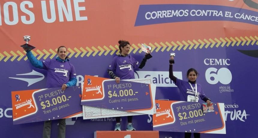 Gran carrera de Francisca Almirón en Vicente López