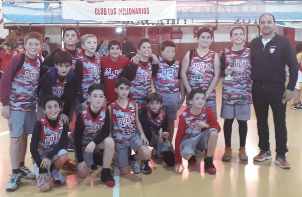 Minis de Ciudad jugaron el cuadrangular final