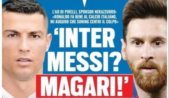 ¿Messi también se va a Italia?