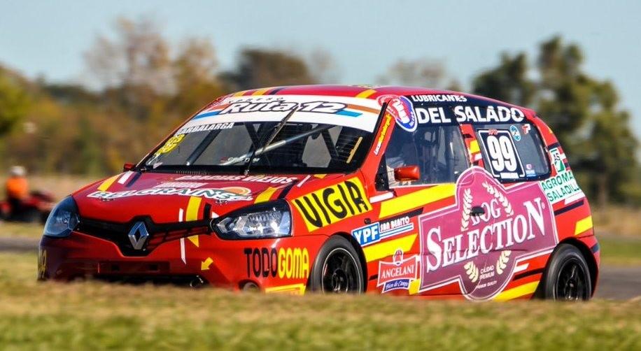 Lucas Barbalarga corre este fin de semana en San Nicolás