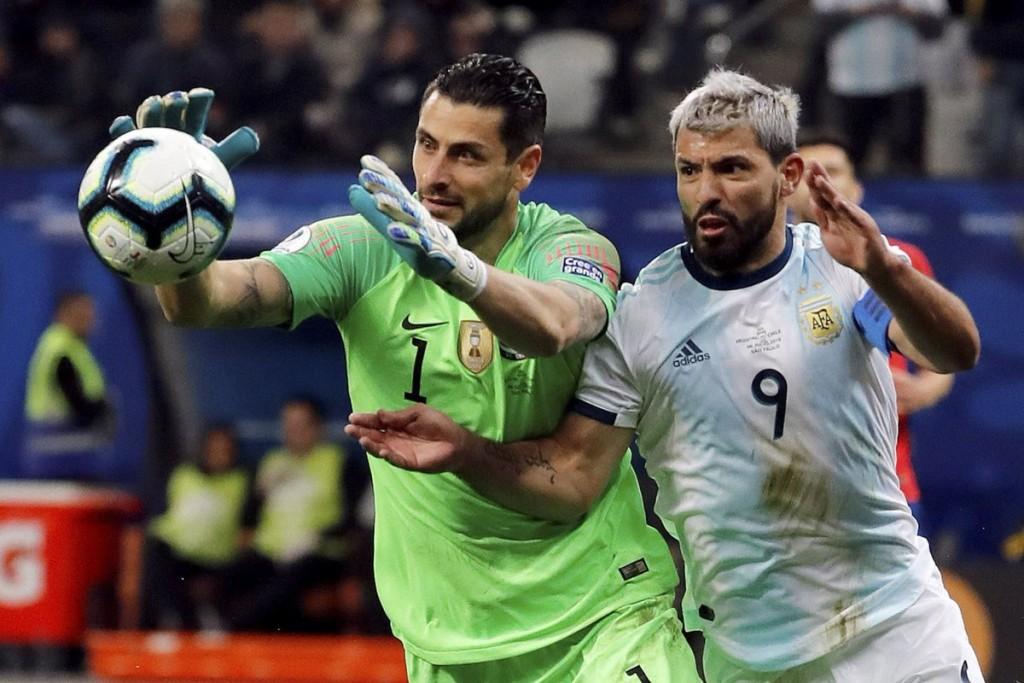 Argentina le ganó a Chile, al Var y al Conmebol